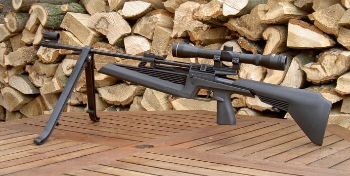 Luftgewehr baikal mp 61 sniper mit magazin luftdruckwaffen freizeit